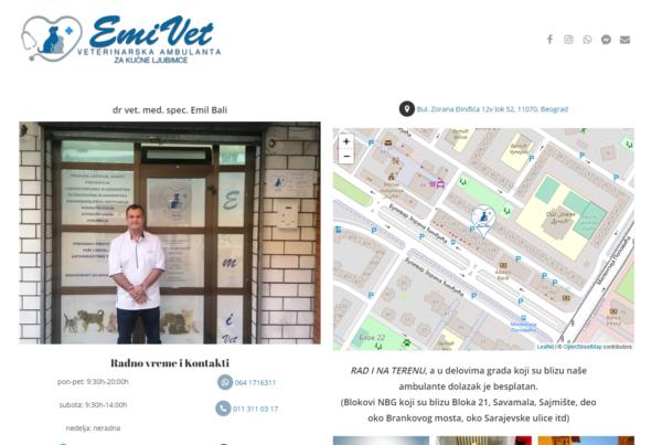 EmiVet WebSite Image